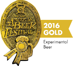 Great American Beer Festival 2016 Gold